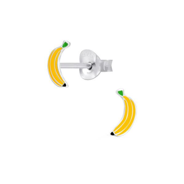 banana post earrings