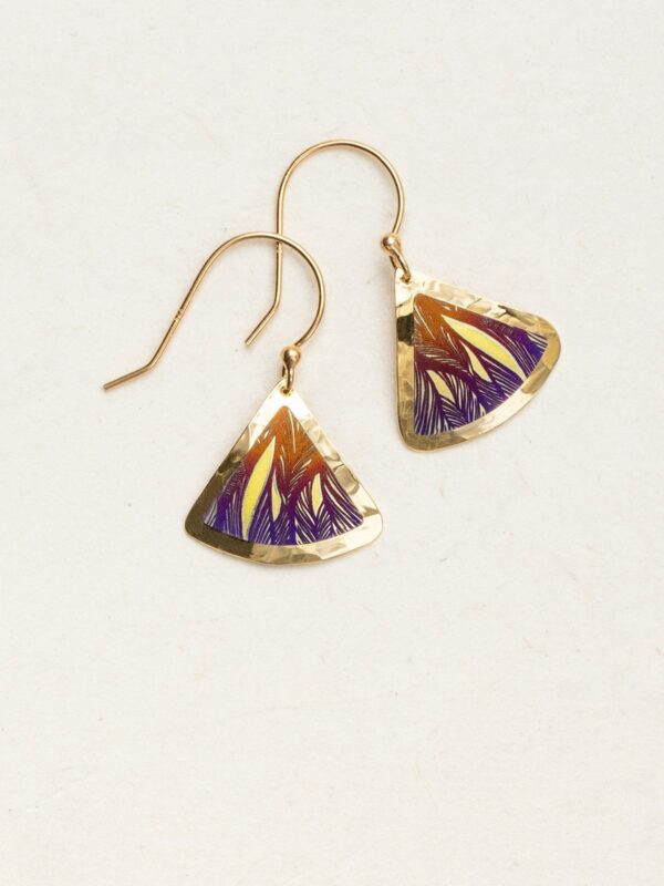 Rae earrings by jewelry designer Holly Yashi