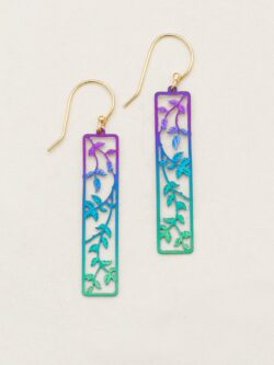 Holly Yashi long leaf earrings
