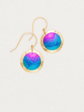 Holly Yashi Thelma earrings in Calypso