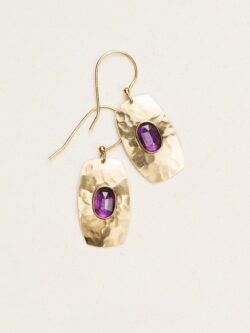 Amethyst earrings by Holly Yashi