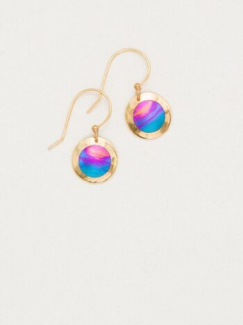 Lulu earrings in Calypso by Holly Yashi
