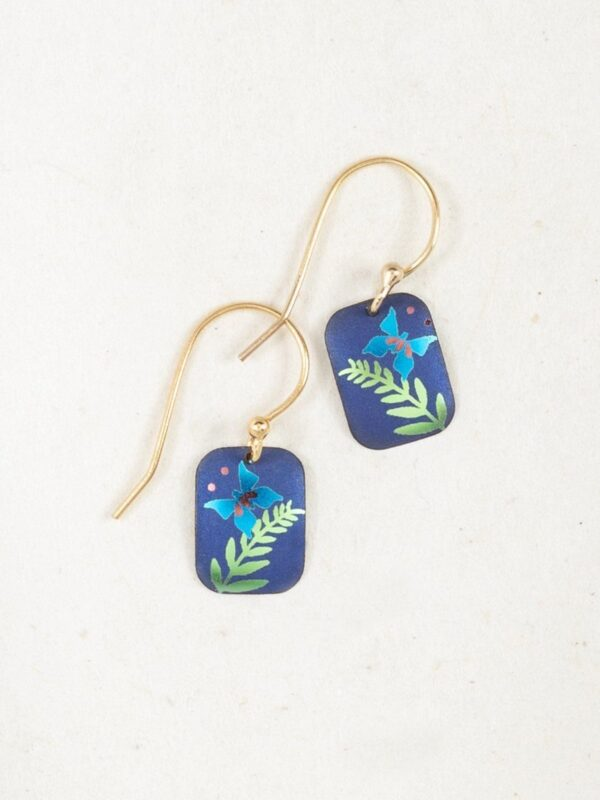 River's Edge butterfly earrings by Holly Yashi Jewelry
