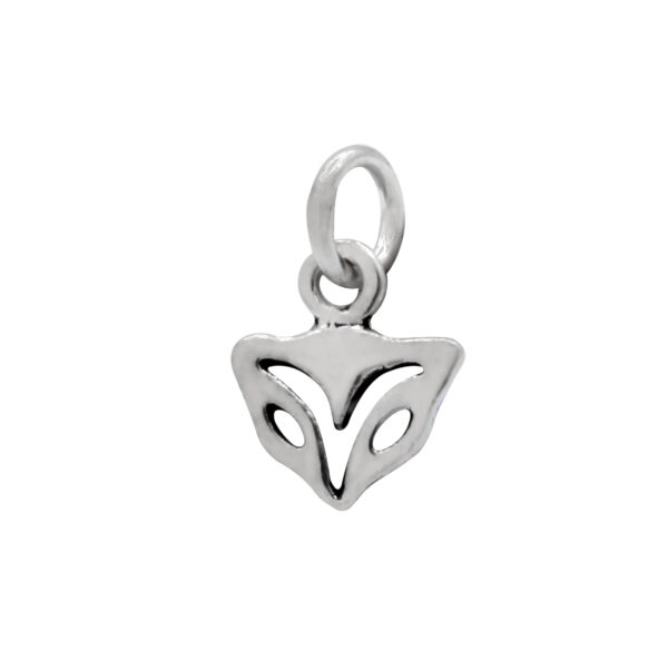 nickel-free sterling silver fox head petite charm