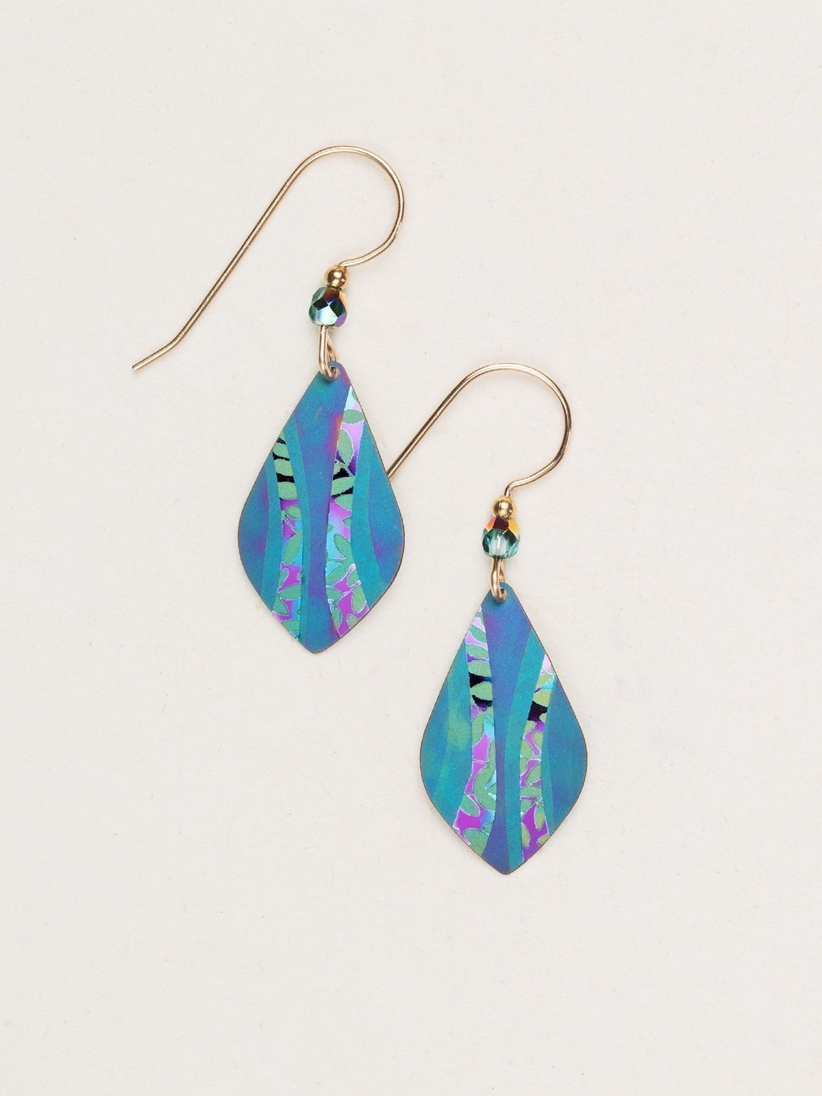 Riverwind earrings by Holly Yashi Jewelry