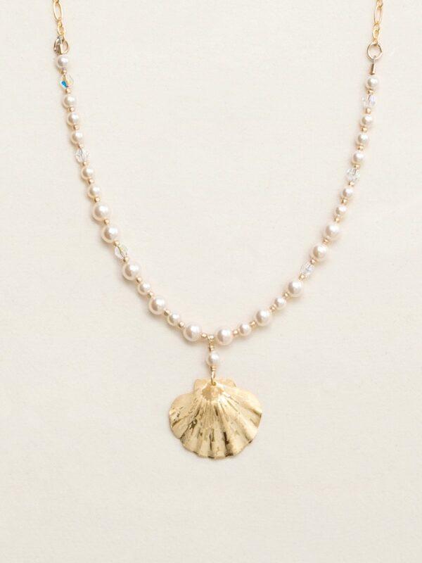 Sea Shell necklace by Holly Yashi