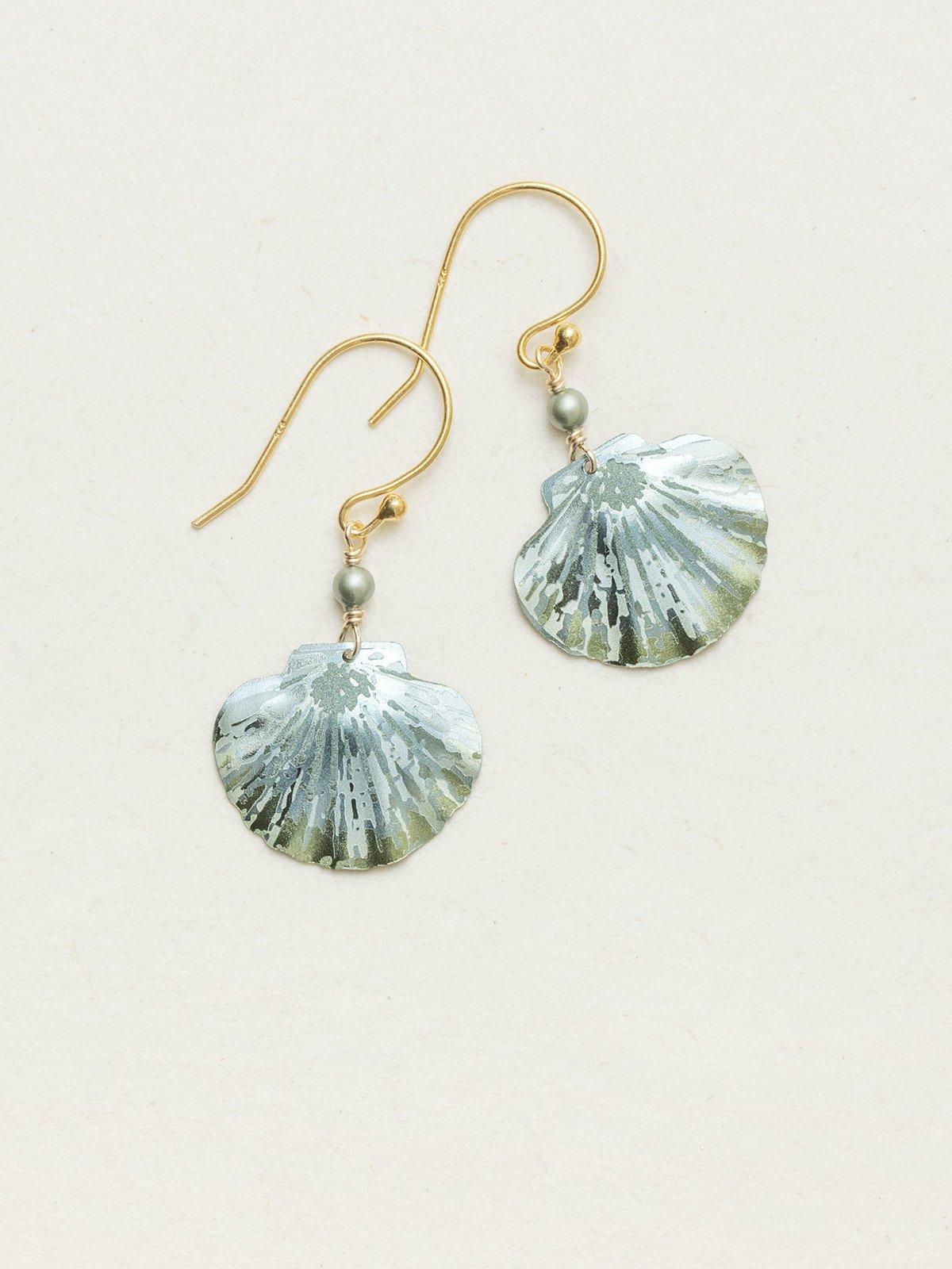 sea shell earrings by Holly Yashi