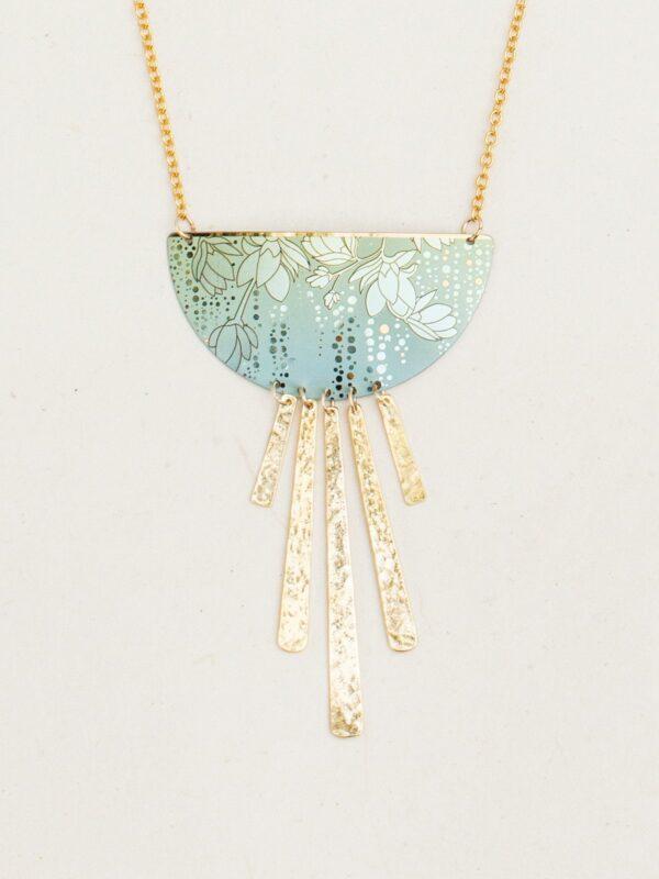 Evelina necklace from California jewelry designer Holly Yashi