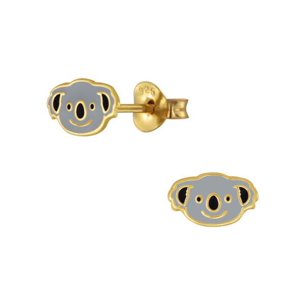 koala bear post earrings