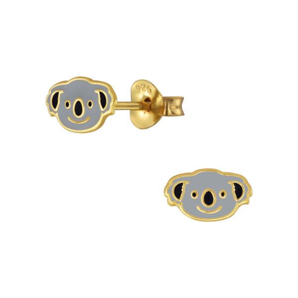 koala bear post earrings