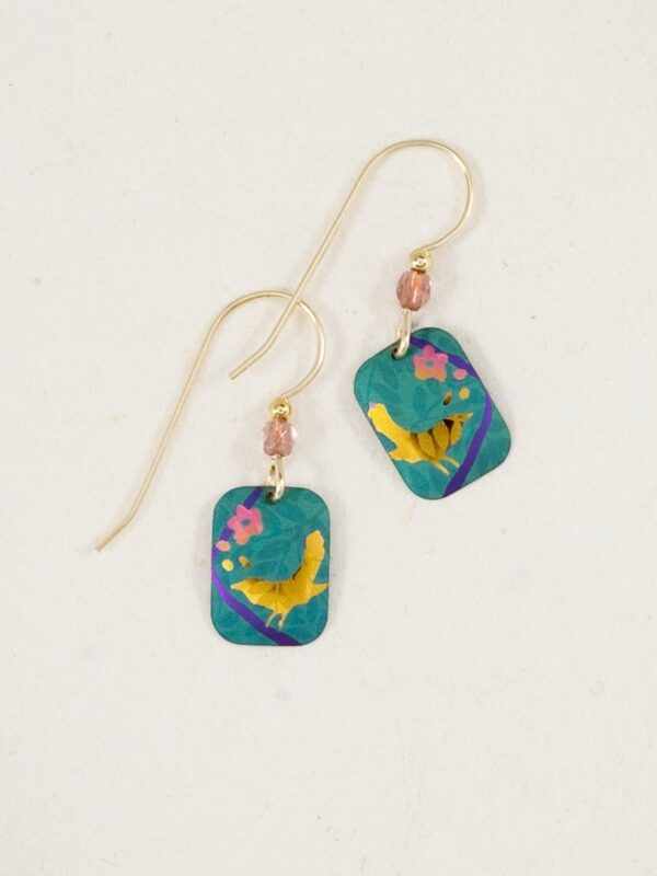 Singing Sparrow earrings from Holly Yashi Jewelry