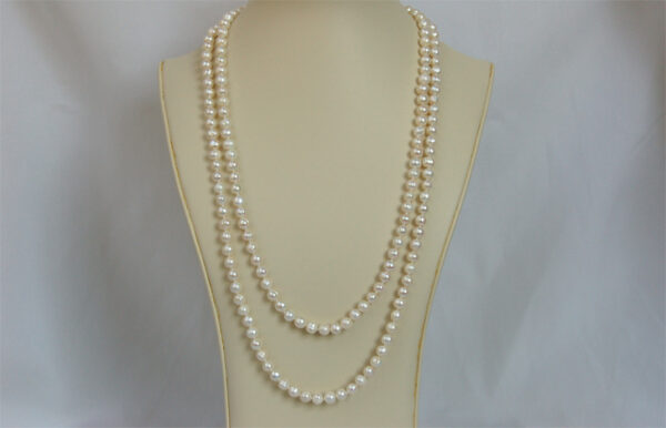 50 inch long pearl necklace