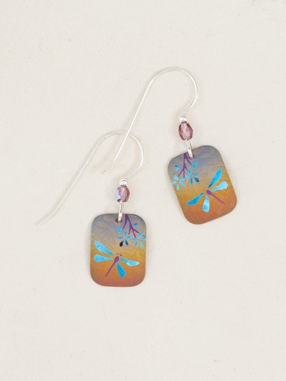 Garden Party dragonfly earrings
