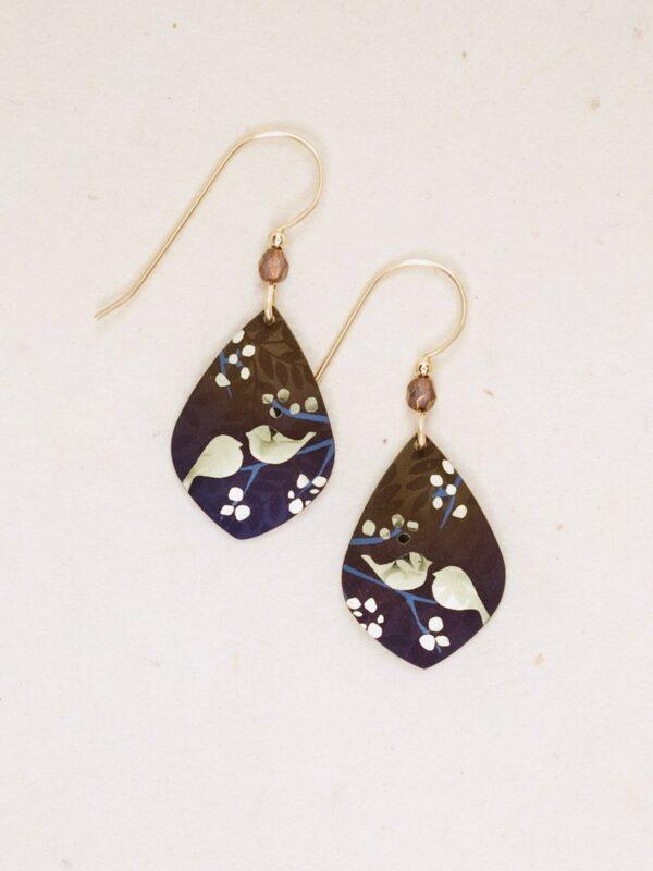 Lovebirds Earrings by jewelry designer Holly Yashi