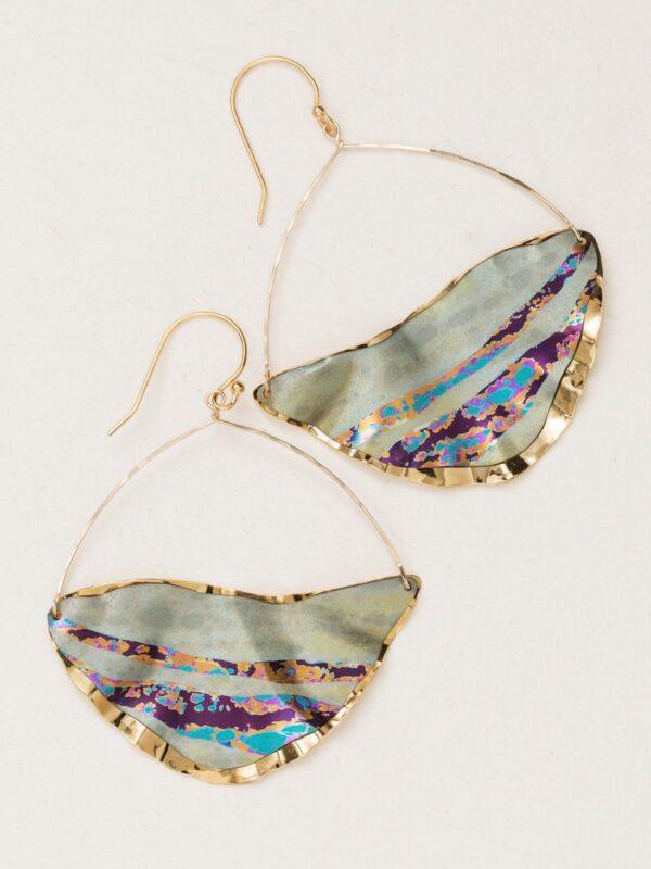 Bora Bora Earrings in Sage by Jewelry Designer Holly Yashi