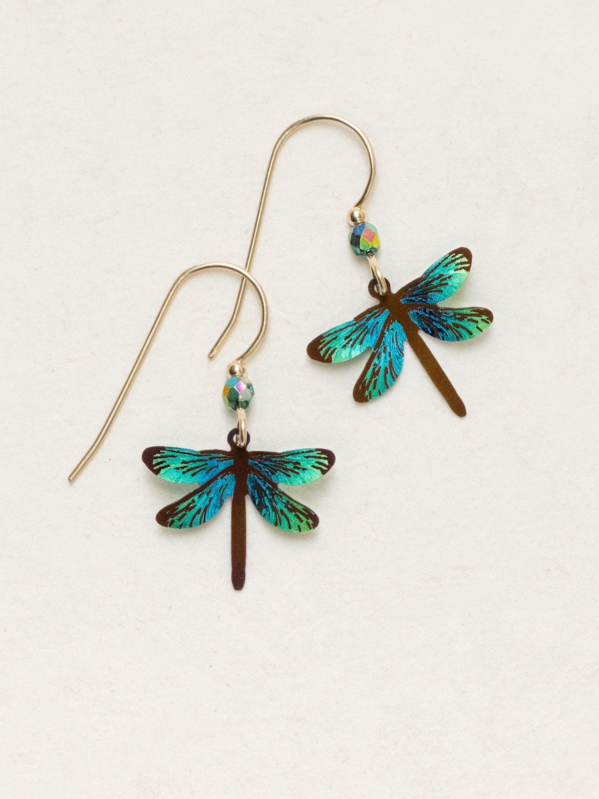 Holly Yashi dragonfly earrings