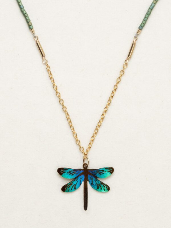 Dragonfly necklace by Holly Yashi