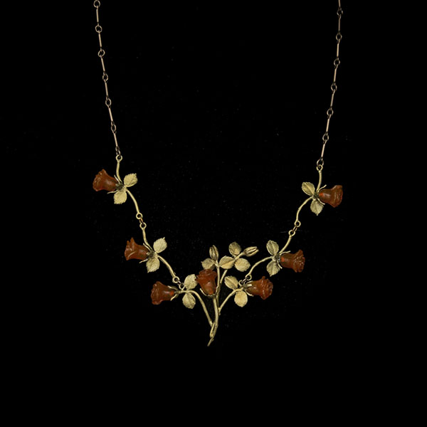 red rose necklace by Michael Michaud for Four Seasons Design Group