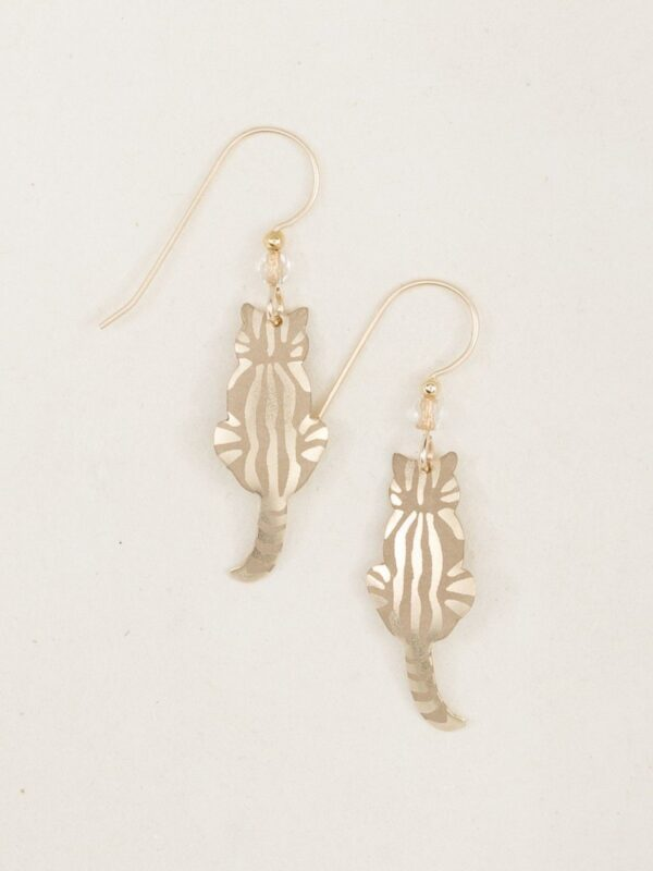 Holly Yashi cat earrings