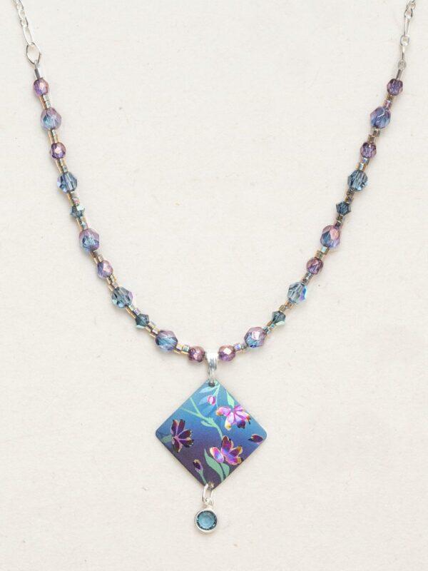Blue Garden Sonnet Necklace by Holly Yashi