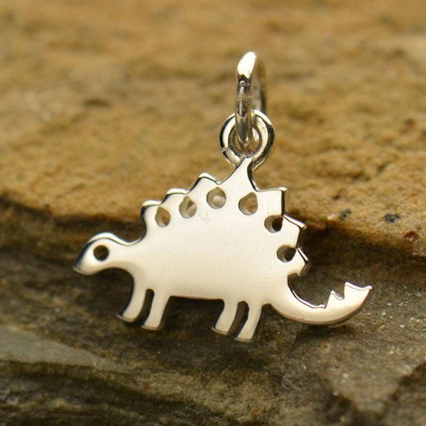 stegosaurus dinosaur charm