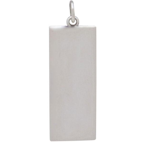 back side of dandelion pendant