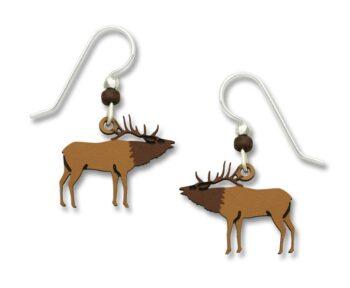 elk earrings