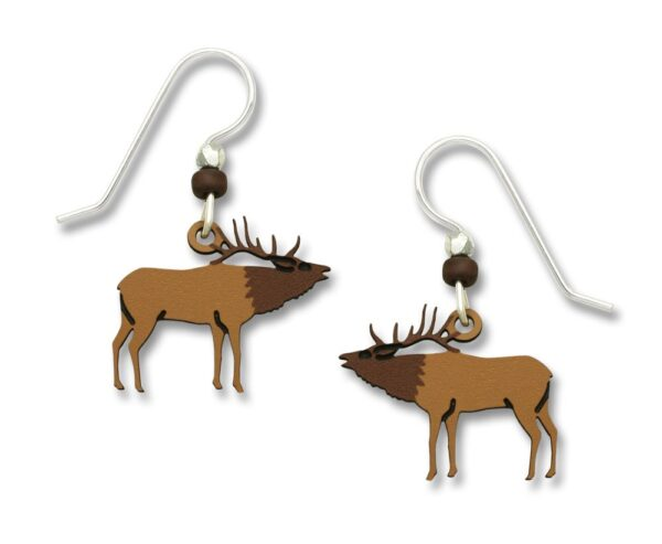 elk earrings
