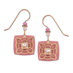 pink Adajio earrings
