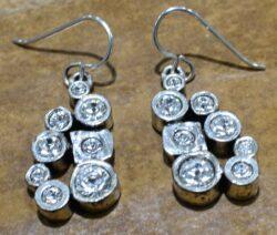 Patricia Locke Billie earrings in All Crystal