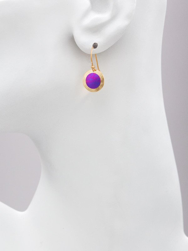 Lulu earrings by jewelry designer Holly Yashi in Calypso Color