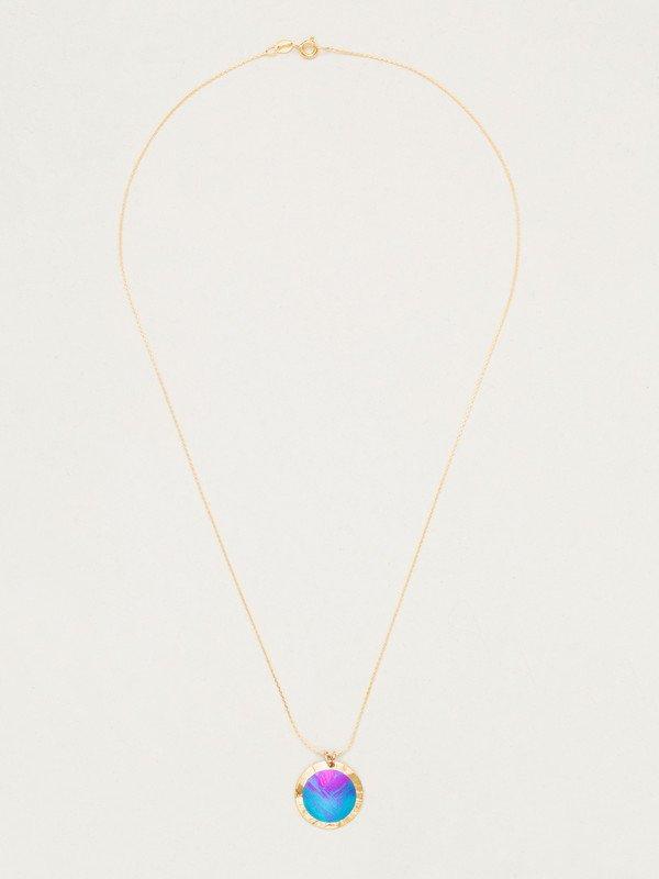 Holly Yashi Thelma necklace in Calypso