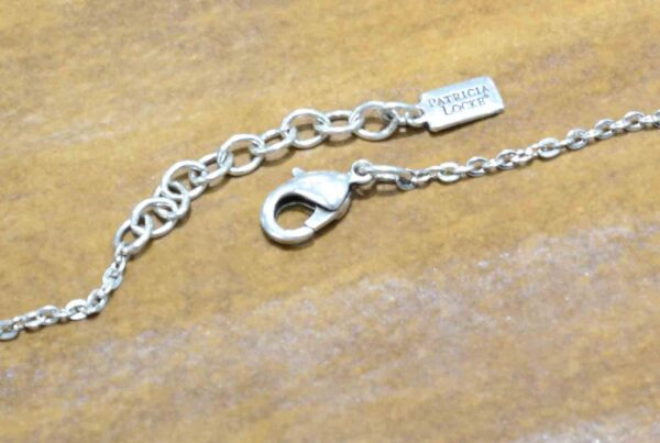 clasp of Park Avenue necklace by Patricia Locke