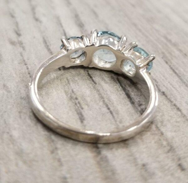 back of blue topaz ring