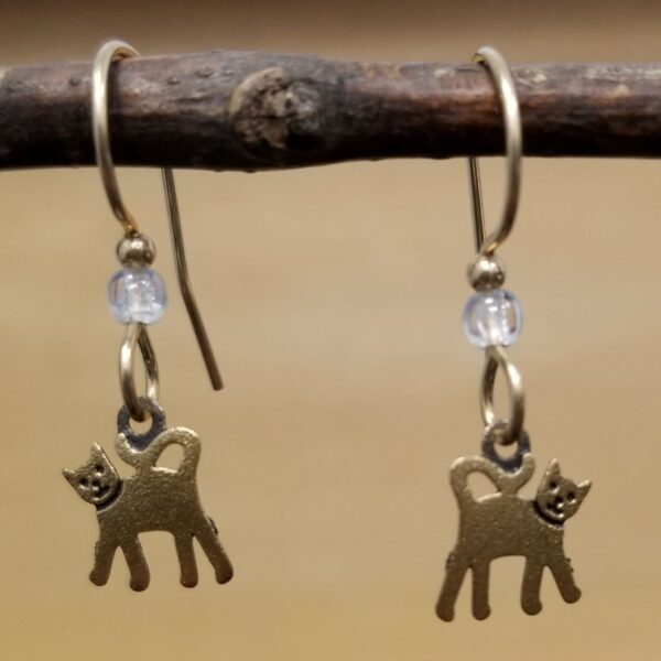 petite Cat earrings