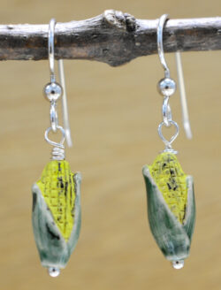 ear of corn earrings