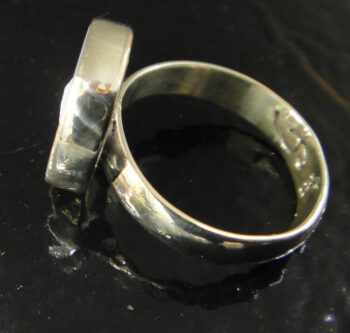 side of dolphin cameo ring