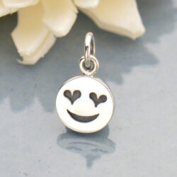 smiley face emoji charm
