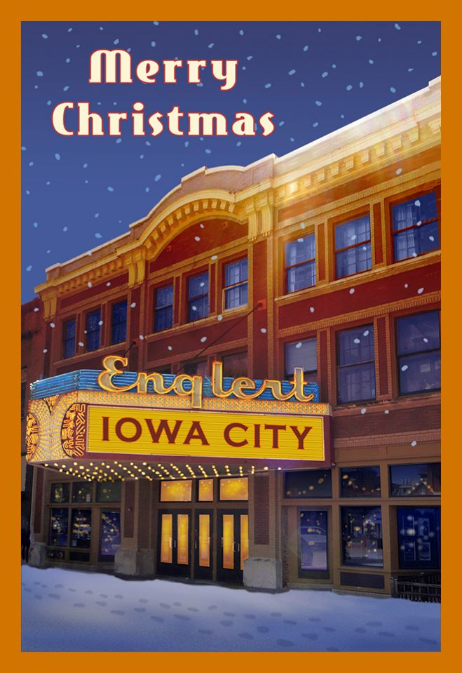 Merry Christmas from Iowa City Englert Theatre ornament