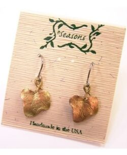 Michael Michaud Seasons English Ivy dangle earrings