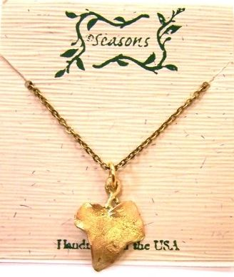 Michael Michaud English ivy seasons necklace