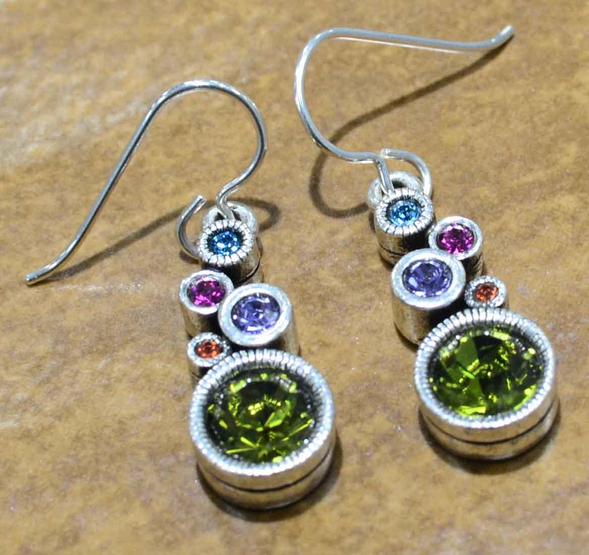 Patricia Locke Encore earrings in Fling