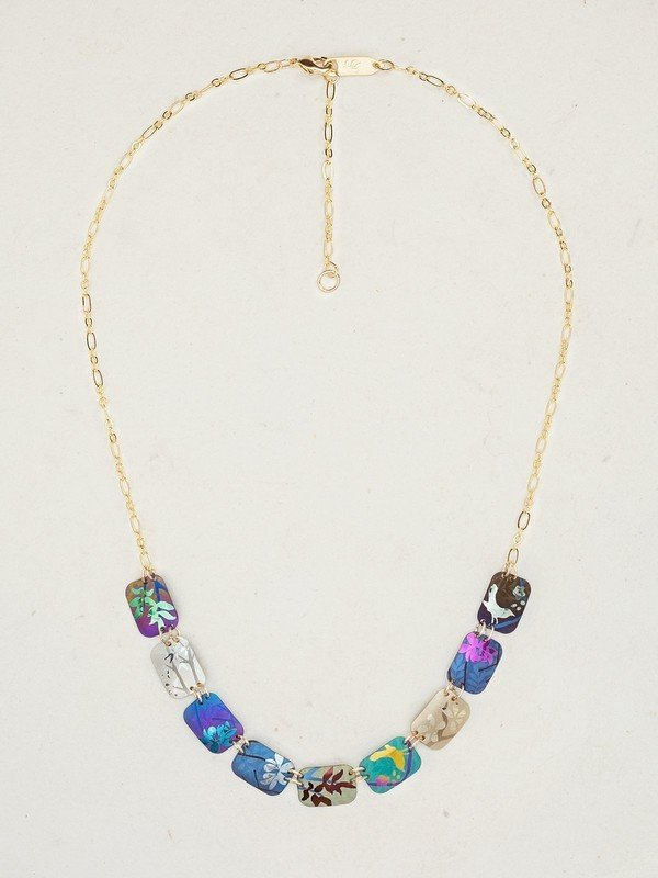 colorful nature inspired Garden Delight necklace from jewelry designer Holly Yashi