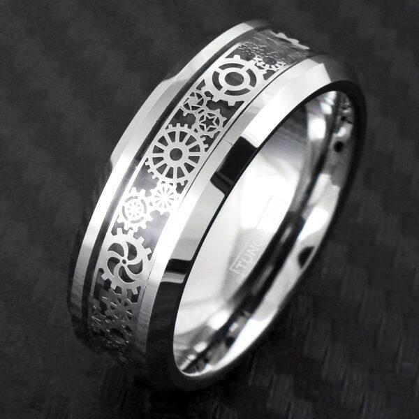 Tungsten gear ring