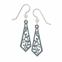 gray vine earrings by Adajio