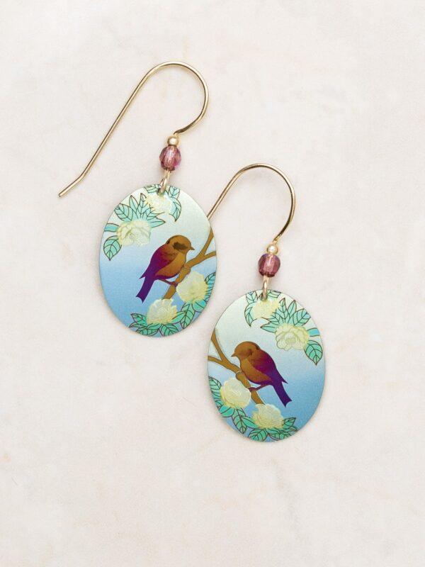 Bird earrings by Holly Yashi