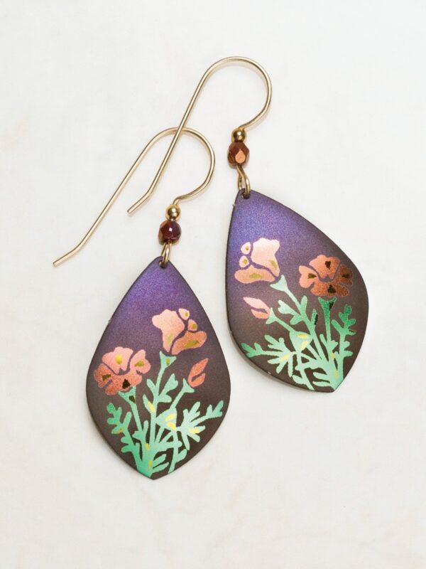 Poppy Earrings by Holly Yashi jewelry
