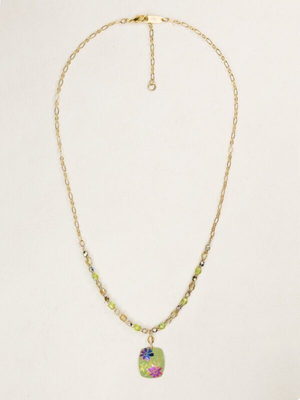 Green Meadow necklace by jewelry designer Holly Yashi