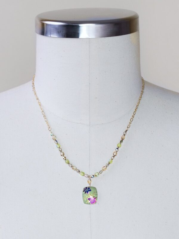 green meadow necklace by Holly Yashi