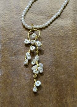 Michael Michaud Silver Seasons Jasmine pearl necklace